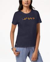 Lacoste Cotton Graphic T-Shirt