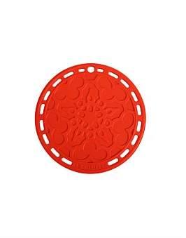 Le Creuset Silicone Trivet Cerise Red 20Cm