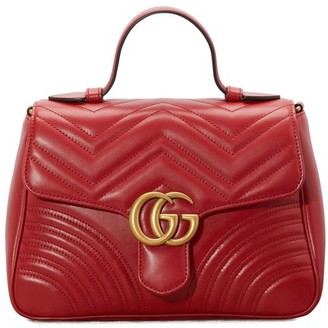 Gucci GG Marmont matelasse top handle bag