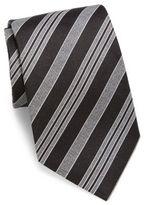 Giorgio Armani Multi-Striped Slim Silk Tie