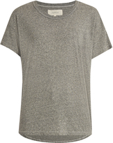 The Great The Shirttail round-neck jersey T-shirt
