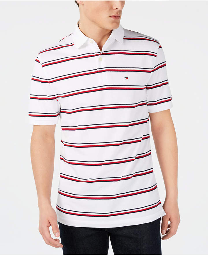 c850cf21 Tommy Hilfiger White Men's Polos - ShopStyle