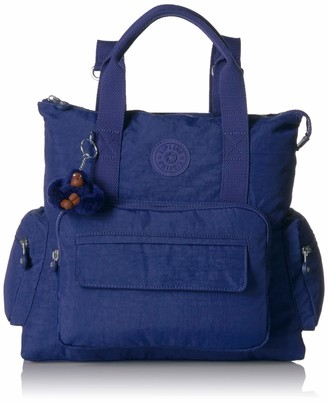 Kipling Alvy 2-in-1 Convertible Tote Bag Backpack Wear 2 Ways Zip Closure Convertible Top Handle Bag