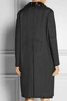 Marni Embellished double-faced wool coat