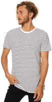 Swell Basic Mens Stripe Tee White