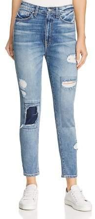 Derek Lam 10 Crosby Tali High-Rise Authentic Skinny Jeans in Medium Wash