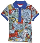 Little Marc Jacobs Jungle Print Polo