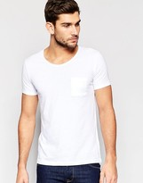 United Colors Of Benetton Scoop Neck T-shirt With Pocket