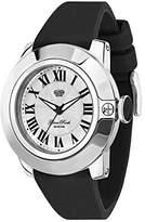 Glam Rock Unisex GR32009 SoBe Silver Dial Watch