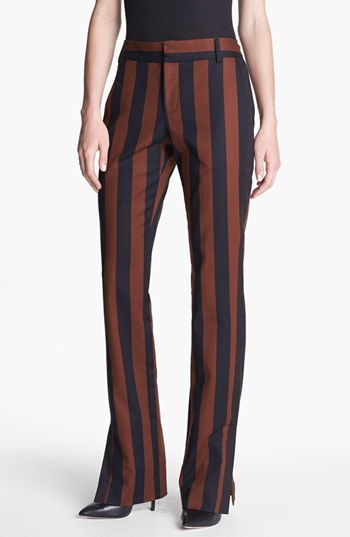 Rachel Roy Stripe Straight Leg Pants