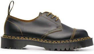 Dr. Martens Contrast Leather Oxford Shoes