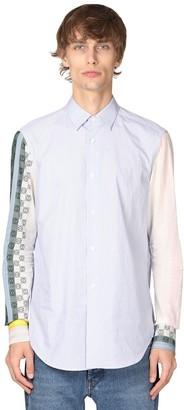 Loewe Anagram Striped Cotton Poplin Shirt