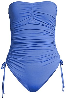 Melissa Odabash Sydney One-Piece Ruched Tie Swimsuit