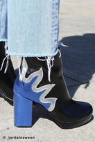 Urban Outfitters Flame Platform Ankle Boot