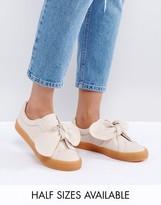 Asos DOUGHNUT Bow Sneakers