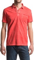 JKL Pigment-Dyed Polo Shirt - Short Sleeve (For Men)