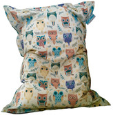 Kids Owl Bean Bag