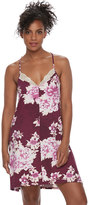 Apt. 9 Women's Pajamas: Dressed Up Comfort Knit Chemise