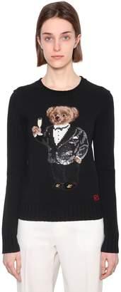 Polo Ralph Lauren Sequence Bear Wool Knit Sweater