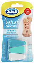 Scholl Velvet Smooth Electronic Nail Care System Refills