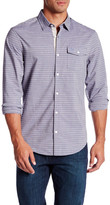 Original Penguin Long Sleeve Striped Slim Fit Shirt