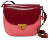Fossil Emi Colorblock Leather Crossbody