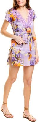 Taj By Sabrina Crippa Tie-Waist Mini Dress
