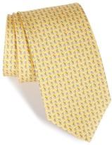 Salvatore Ferragamo Men's Fruit Silk Tie