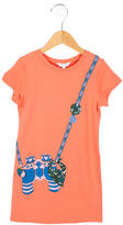 Little Marc Jacobs Girls' Stretch Knit Printed Dress w/ Tags