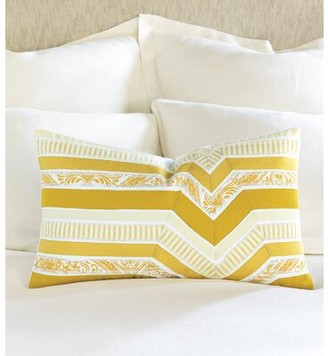 Arabella Eastern Accents Printed Ribbon Square Lumbar Pillow Eastern Accents