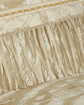 Austin Horn Collection Charlotte California King Silk Dust Skirt