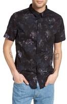 Globe Men's Denman Floral Print Woven Shirt