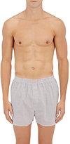 Sunspel Men's Link-Print Cotton Boxers