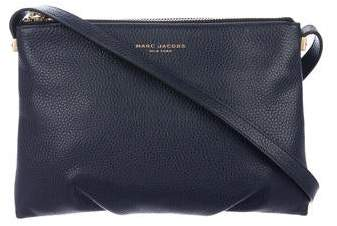 424b9e188f3 Marc Jacobs Black Leather Crossbody Purse - ShopStyle