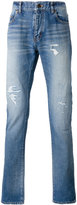 Saint Laurent distressed jeans - men - Cotton - 27