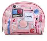 Harrods Make-Up and Brushes Cosmetics Bag