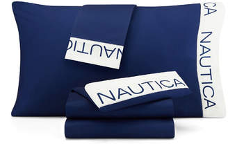 Nautica Colorblock Full Sheet Set Bedding