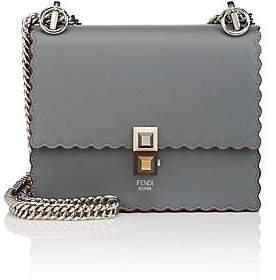 Fendi Women's Kan I Mini Leather Shoulder Bag - Green