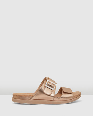 Clarks Women's Pink Flat Sandals - Step June Sun - Size One Size, 4 at The Iconic