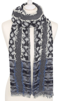 George Textured Oversized Scarf