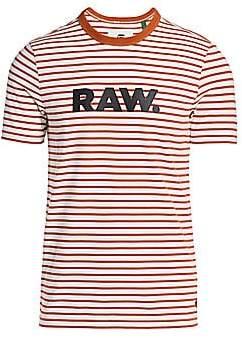 G Star Men's Raw Striped Tee