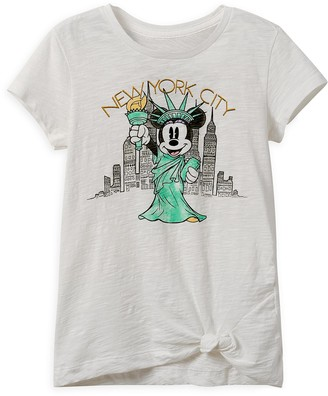 Disney Minnie Mouse Statue of Liberty T-Shirt for Girls New York City