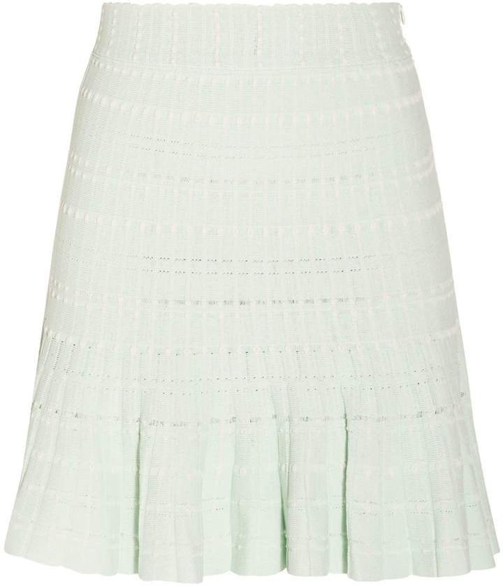 Alexander McQueen Mini Knitted Skirt