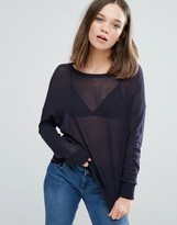 Only Mill Knit Long Sleeved Tee