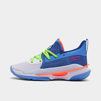 Under Armour Big Kids' Curry 7 Basketball Shoes