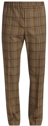 Helmut Lang Plaid Pull-On Pants
