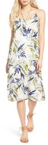 Lush Women's Floral Strappy Slipdress