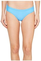 Volcom Women's Simply Solid Cheeky Swimsuit Bikini Bottom