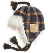 Muk Luks Women's Plaid Helmet