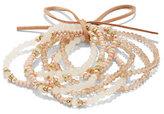 New York & Co. 7-Piece Beaded Stretch Bracelet